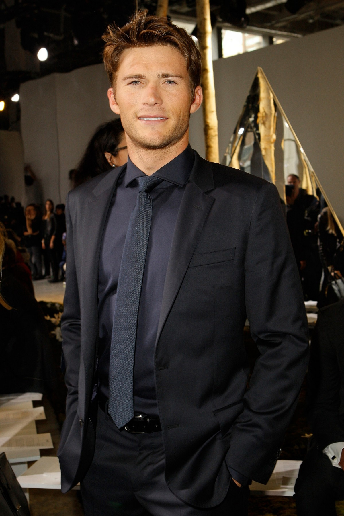 CELEBRITIES ON HUGO BOSS FALL/WINTER FASHION SHOW - News ...