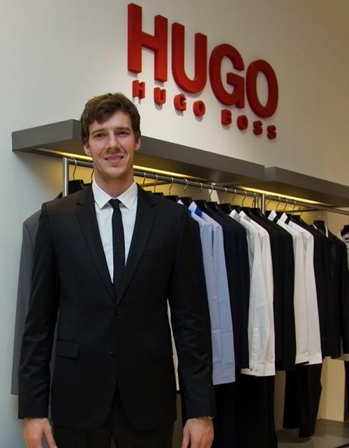 Hugo Boss Suit Ad